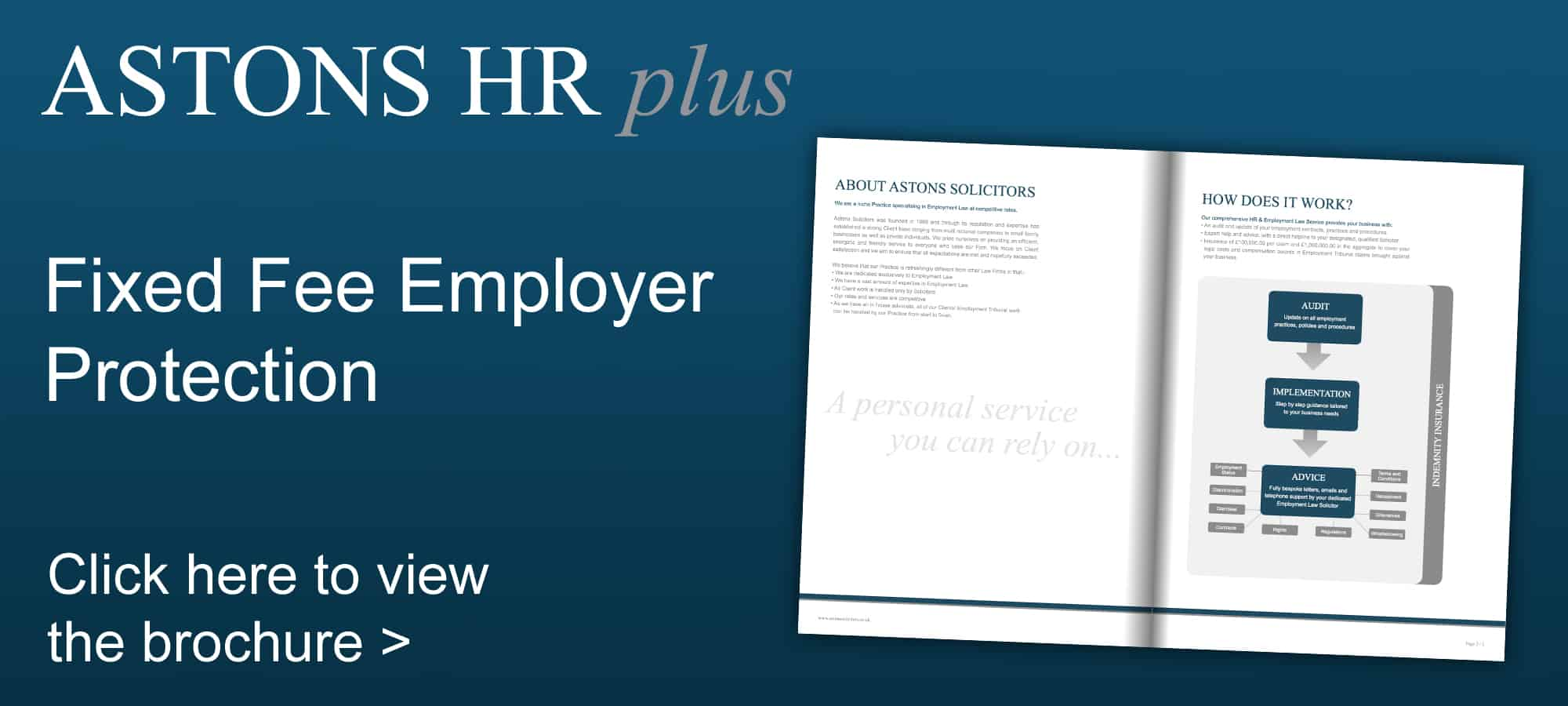 Astons HRplus - Fixed Fee Employer Protection